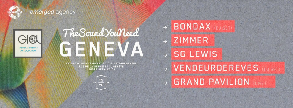 GIA Big Night Out – TheSoundYouNeed Geneva